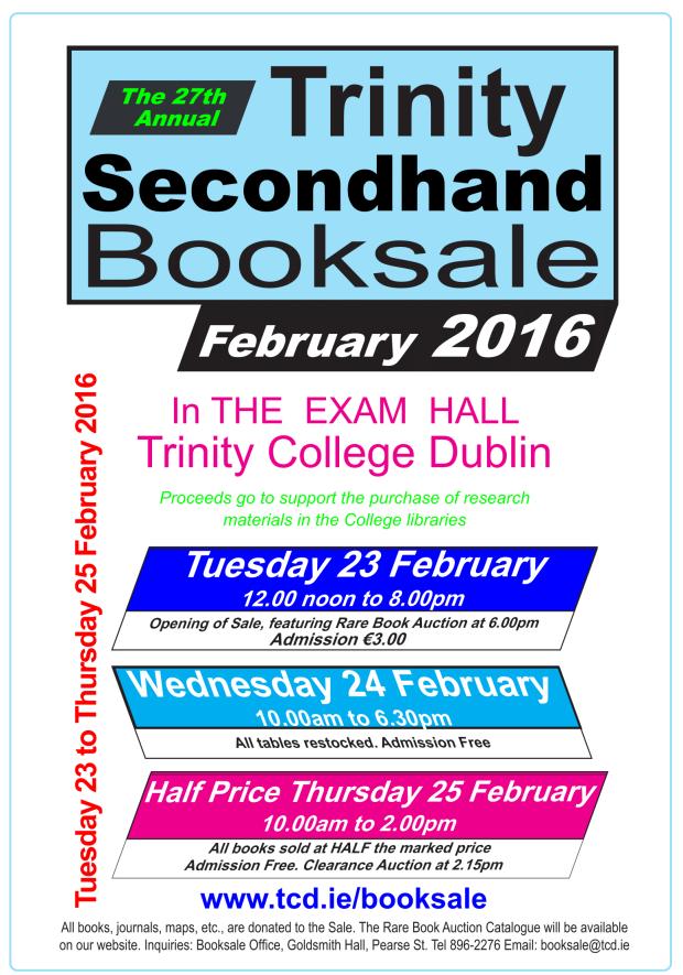 Booksale 2016 Poster Col A-1