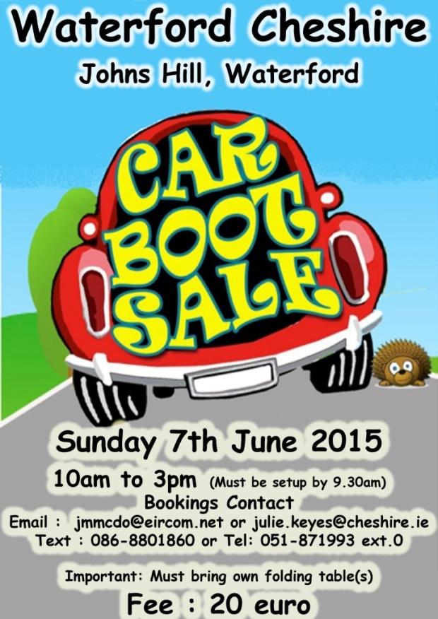 Car Boot Sale 2015
