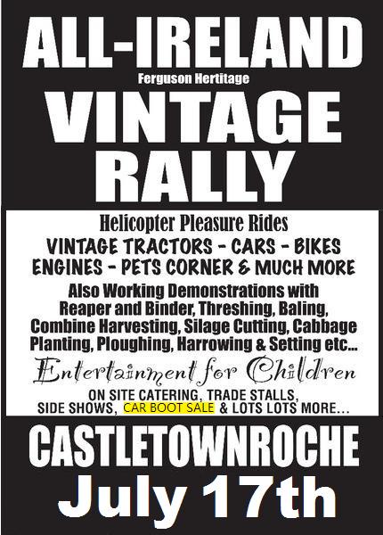 Castletownroche Rally JULY 2016