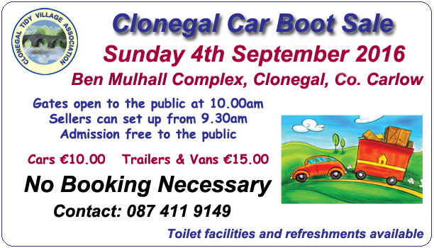 Clonegal CB Sept 2016