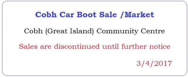 Rathcormac Car Boot Sale