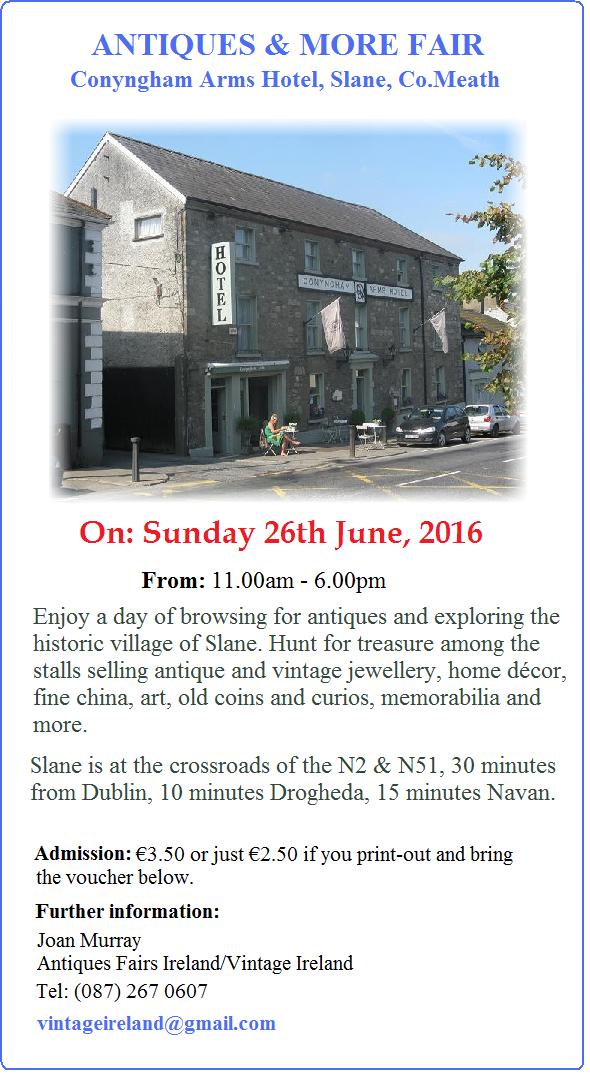 Conygham Arms JUNE 2016 Fair