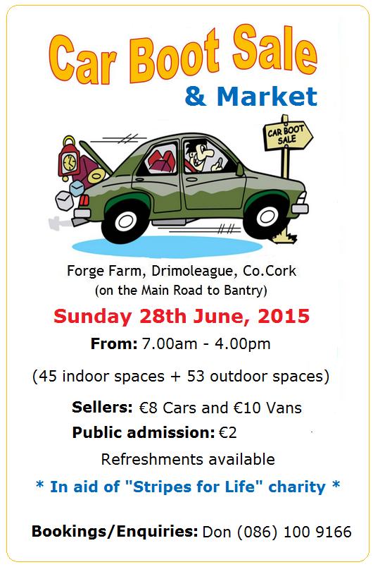 Car Boot Sale Cork Sunday