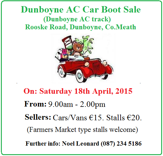 Dunboyne AC Carboot Sale