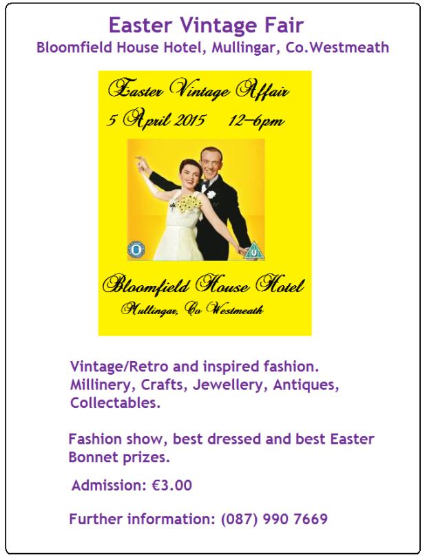 Easter Vintage Fair