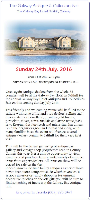 Galway Bay Fair July 2016