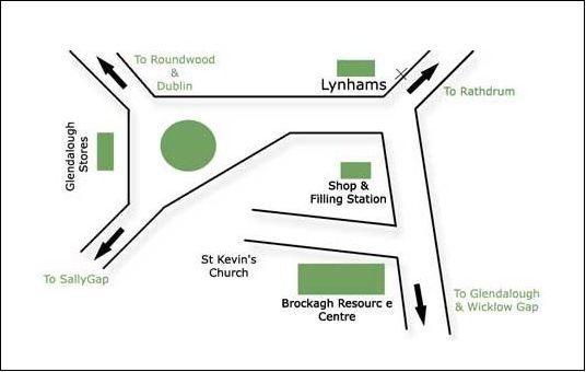 LARAGH MAP
