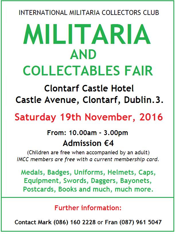 militaria-fair-dublin-nov-2016