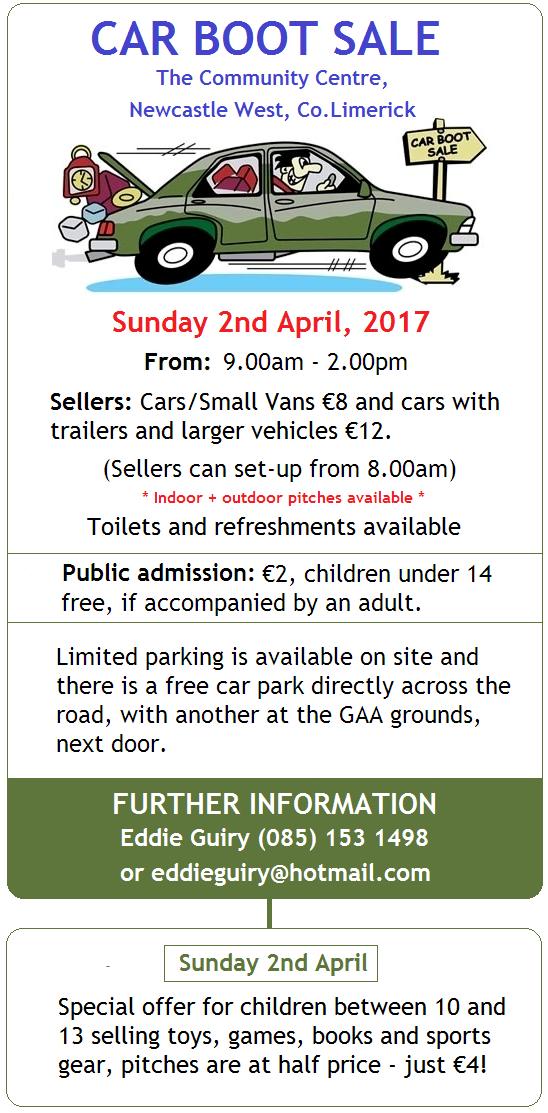 Kilcully Car Boot Sale