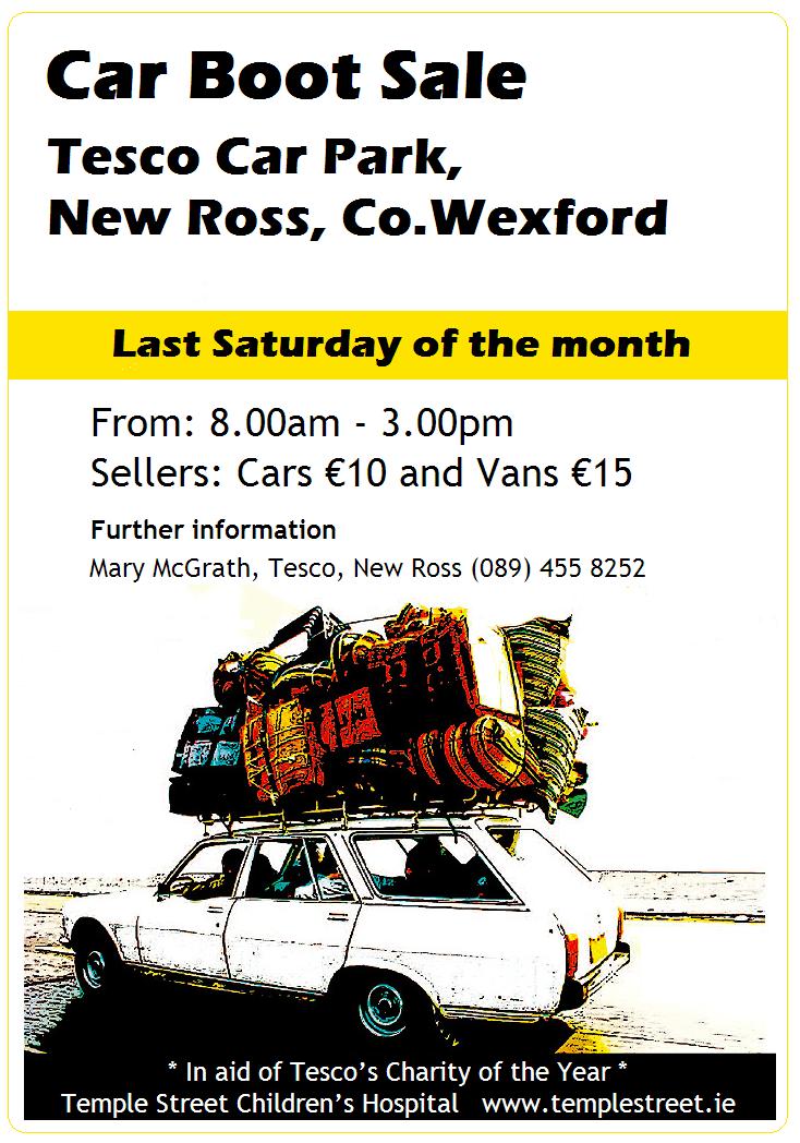 Inch Saturday Market Car Boot Sale