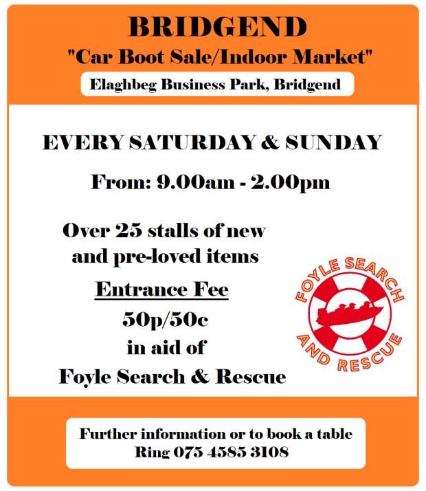 Greysteel Car Boot Sale