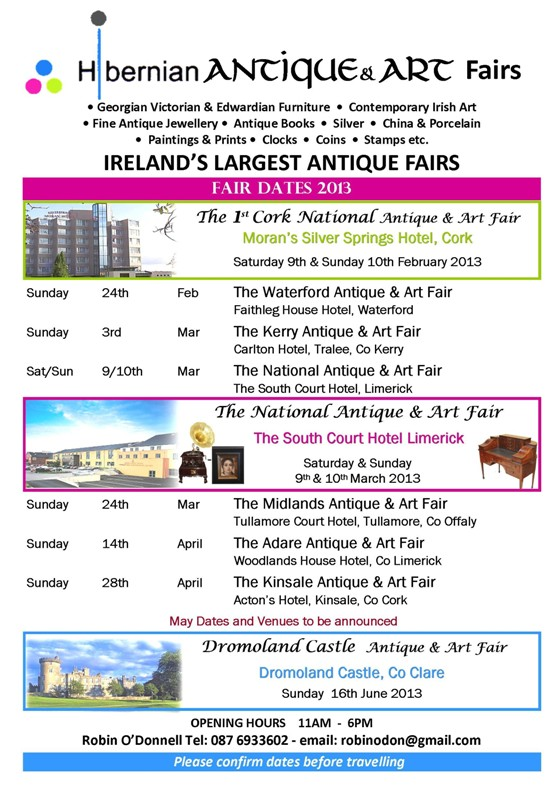 HIB ANT FAIRS February to April flyer.