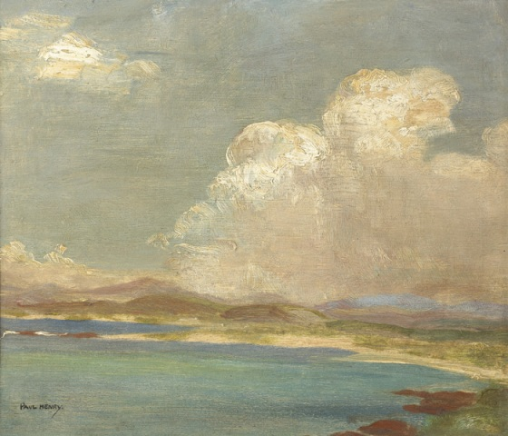 "Lot.45. ""Connemara Landscape c.1910/11 by Paul Henry (1876-1958) sold for €13,000"
