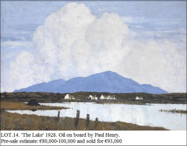 Lot 14 Paul Henry