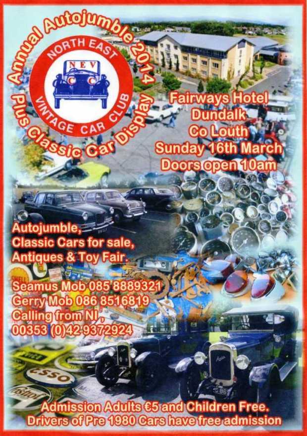 NEVCC Autojumble 2014 - Lo Res
