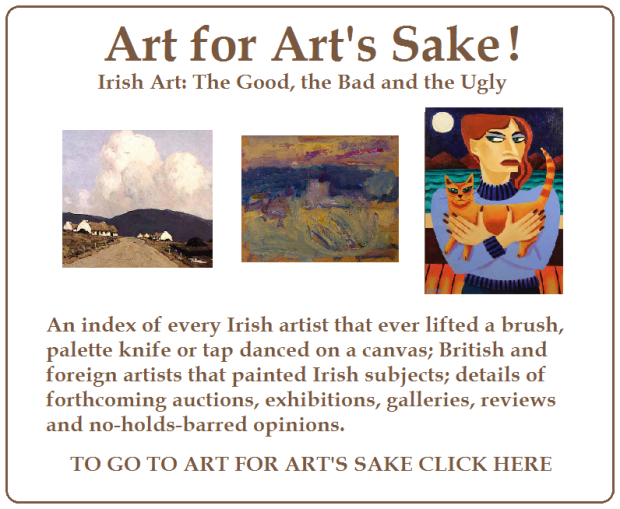 ART FOR ARTS SAKE CLICKABLE AD