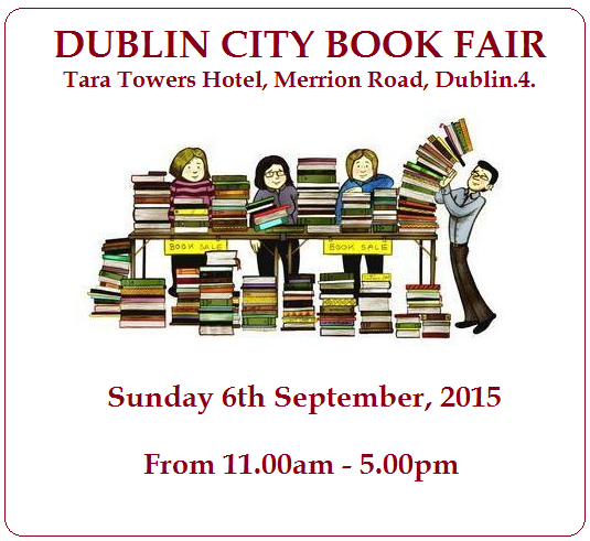 DUB CITY BOOKFAIR SEPT 15