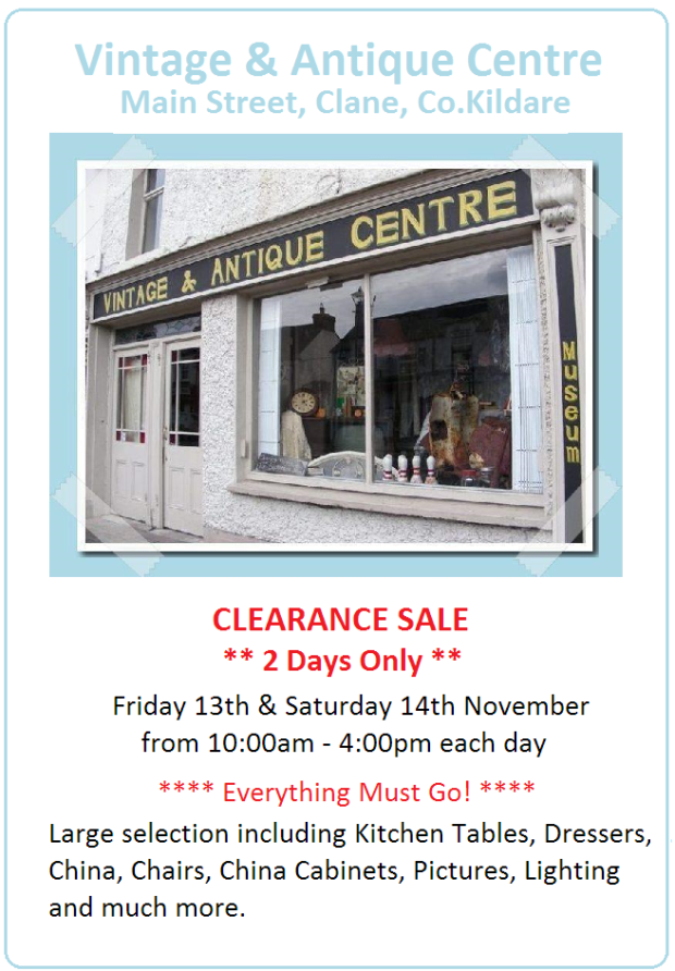 CLANE CLOSING DOWN SALE FINAL