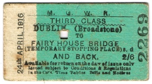 MGWR TICKET