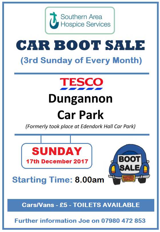 Tesco Car Boot Sale