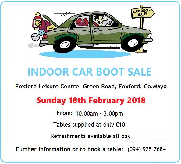 Foxford Car Boot Sale