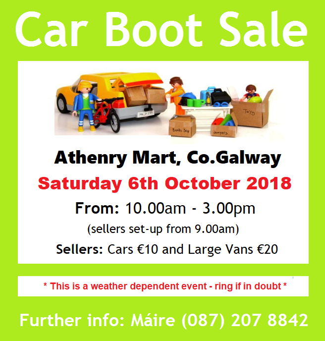 Car Boot Sale Galway