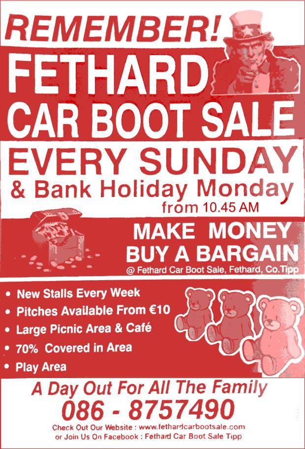 46adb843b61 Car Boot Sales   Collect Ireland