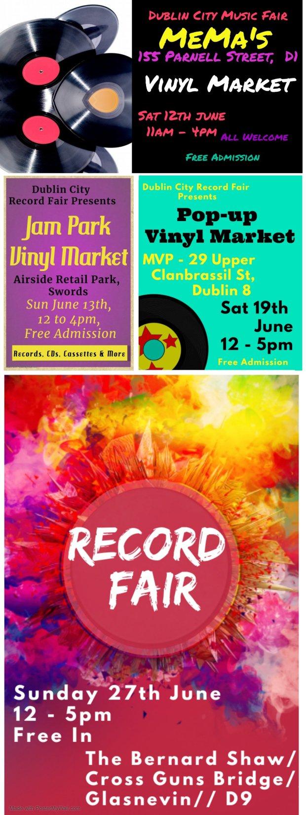 DUBLIN CITY RECORD FAIRS