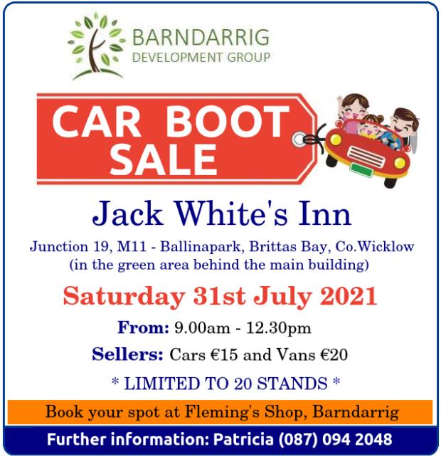 Barndarrrig CB Sale JULY 2021