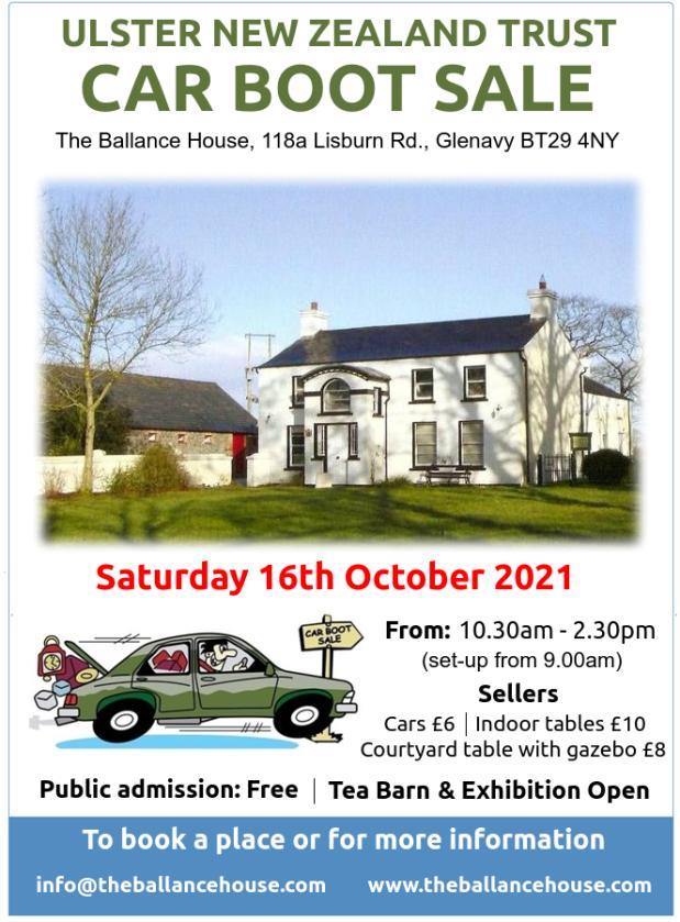 Ballance House CB Sale OCT 2021
