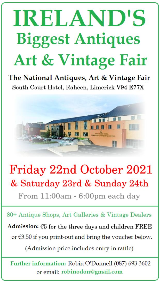 Limerick NAT Fair OCTOBER 2021