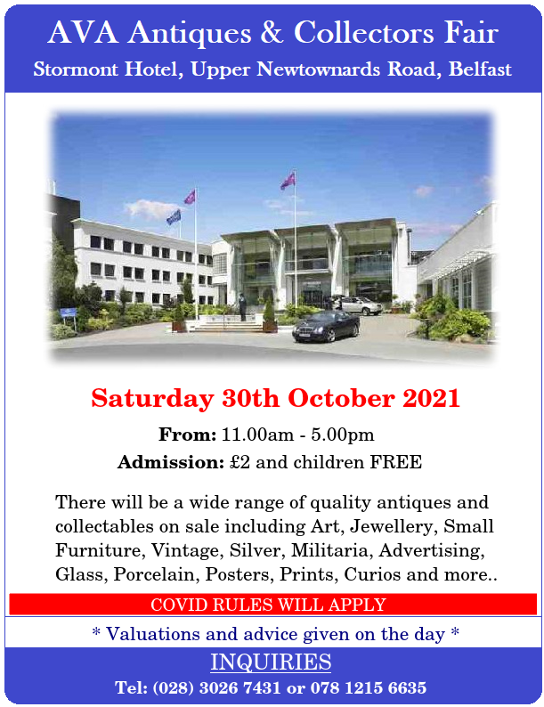 Stormont Hotel 30th OCT 2021